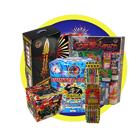 Galaxy Fireworks : Out Of This World